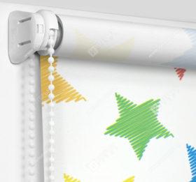 Рулонные шторы Мини - Звездочки