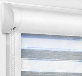 Рулонные кассетные шторы УНИ - Гэлакси серый